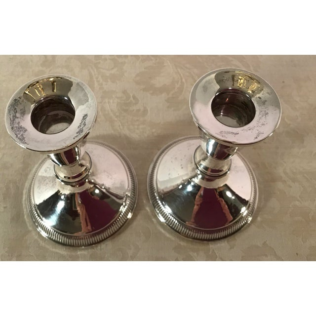 Sterling Silver Candle Holders by Duchin - A Pair - Image 7 of 11