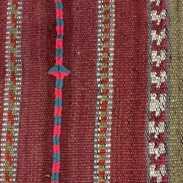 Vintage Turkish Kilim Flatweave - 5'8'' x 6'' - Image 4 of 5