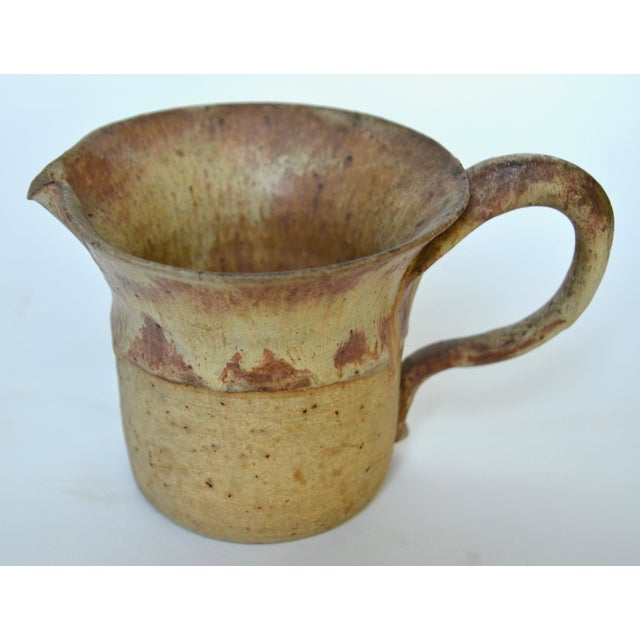 Mid Century Studio Pottery Pitcher 1974 For Sale - Image 4 of 7