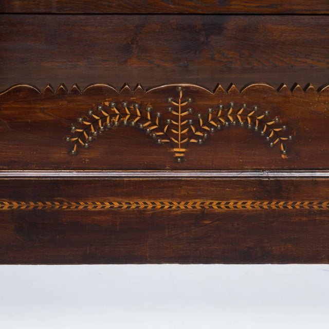 French Provincial 19th Century French Bed Front Converted to Bookcase For Sale - Image 3 of 6