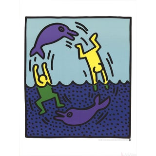 Keith Haring Untitled (Delphine,1983)-Poster