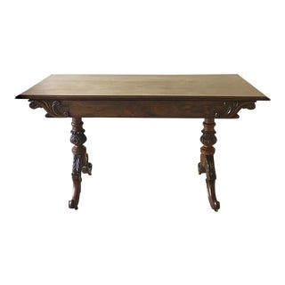 Rare Mack Williams and Gibton Mahogany Side Table Circa 1835 For Sale