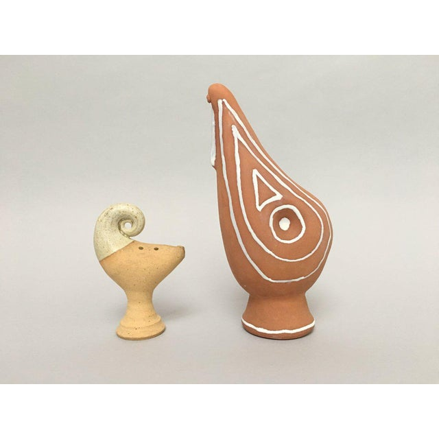 Scandinavian Modern Studio Pottery Figurines - A Pair For Sale - Image 11 of 11