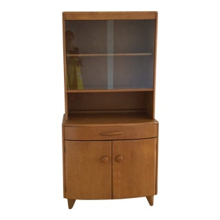 Mid-Century Heywood Wakefield Maple China Cabinet