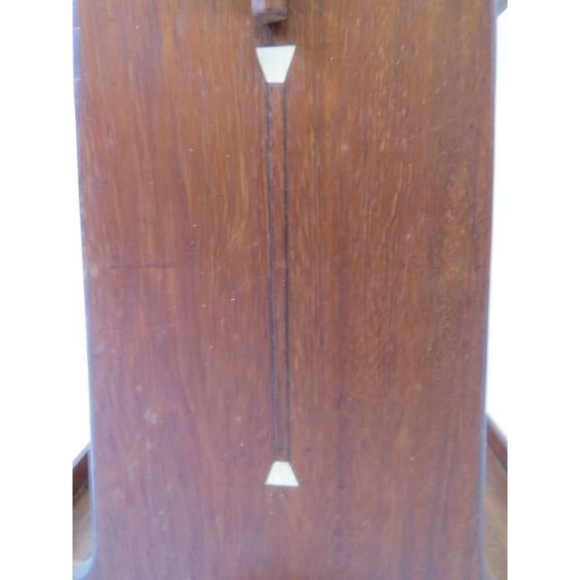 On Hold 1920s Trestle Side Table - Image 6 of 7
