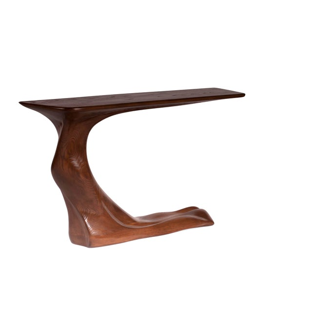 Frolic console table is a stylish futuristic sculptural art table with a dorganic form designed and manufactured by...