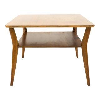 Mid Century Modern Mersman Walnut Side Table For Sale