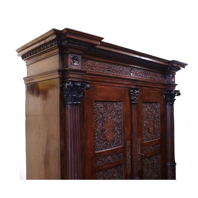 18th Century Baroque Cabinet For Sale - Image 4 of 4