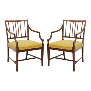 Pair of Frits Henningsen Chairs For Sale