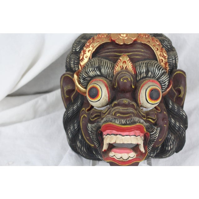 Primitive Asian Monkey Mask For Sale In New York - Image 6 of 8