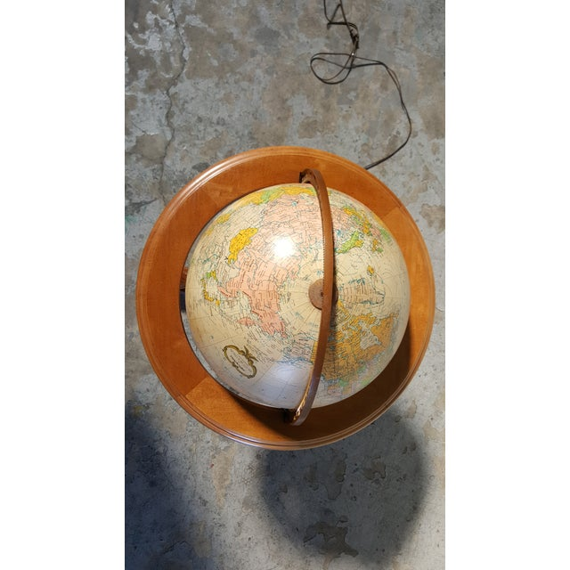 Replogle Vintage Illuminated Heirloom Globe For Sale In San Francisco - Image 6 of 11