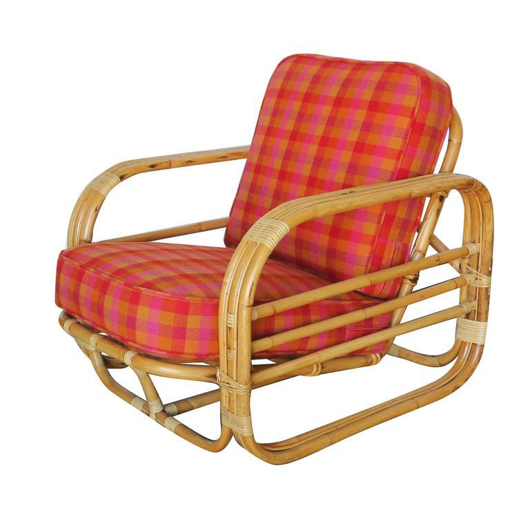 Boho Chic Restored Streamline Art Deco Rattan Living Room Set For Sale    Image 3 Of