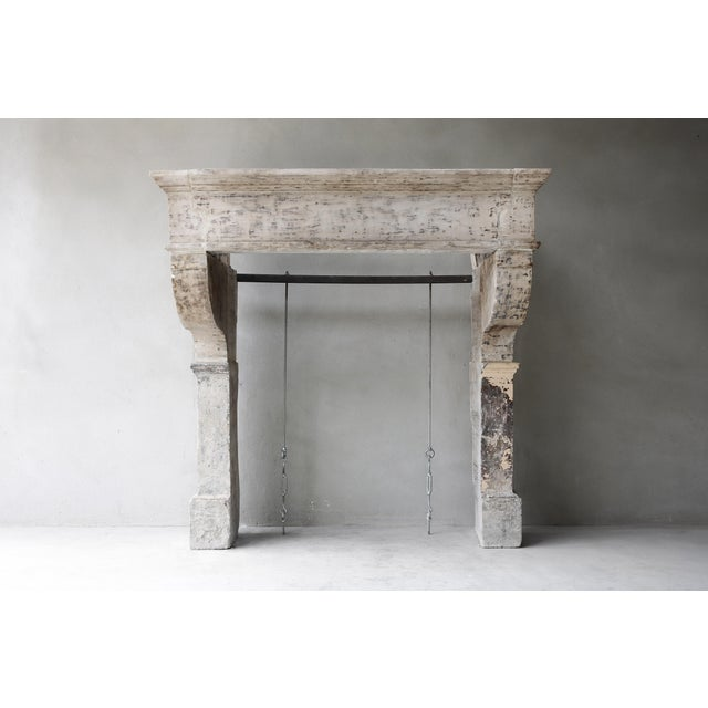 Big Robust Castle Firepace From the 19th Century, Campagnarde Style For Sale - Image 9 of 9