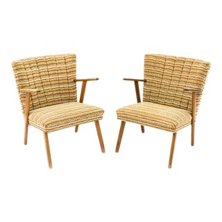 Mid-Century Vintage Easy Lounge Chairs - a Pair For Sale
