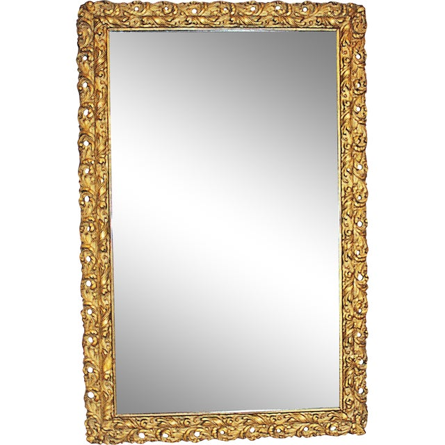 Antique American Gilt Mirror - Image 1 of 4
