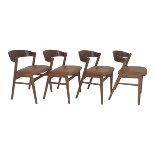 1960s Vintage Dux Dining Chairs- Set of 4 For Sale