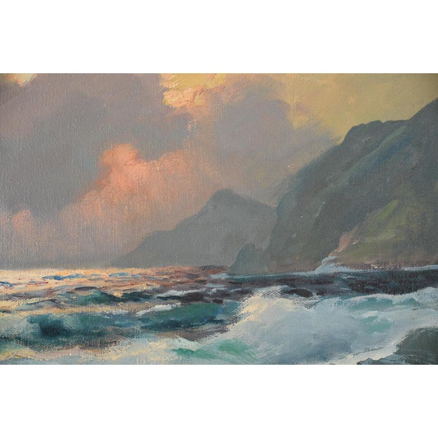 California Shoreline, Oil Painting by A. Dzigurski - Image 5 of 10