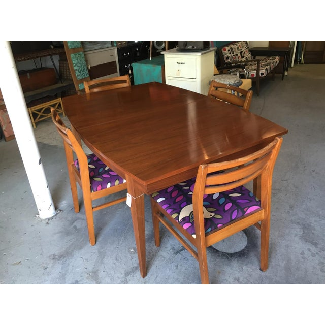 Danish Style Mid Century Modern Dining Table - Image 4 of 9