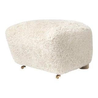 Lassen the Tired Man Sheepskin Footstool