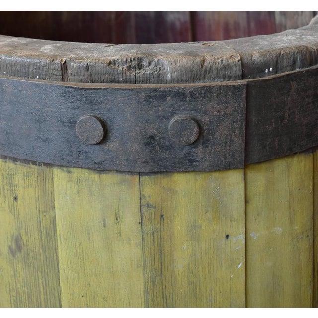 19th Century Wood and Iron Graduated Barrel - Image 4 of 5