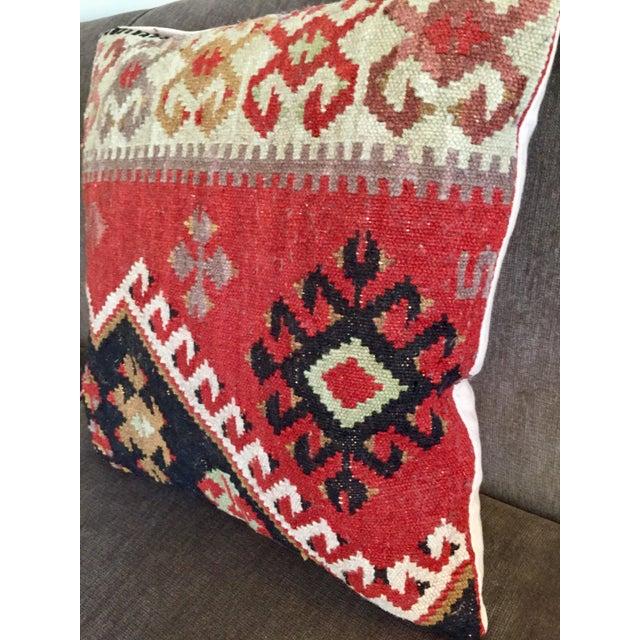 Pottery Barn Kilim Pillow - Image 5 of 7