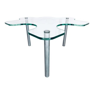 Contemporary Art Glass Puzzle Side Table For Sale
