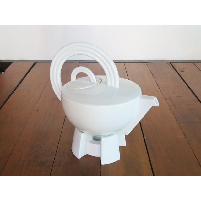 Mario Bellini 'Cupola' Teapot with Stand - Image 7 of 10