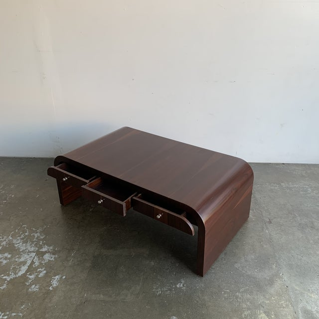 Low Profile Art Deco Coffee Table For Sale In Los Angeles - Image 6 of 13