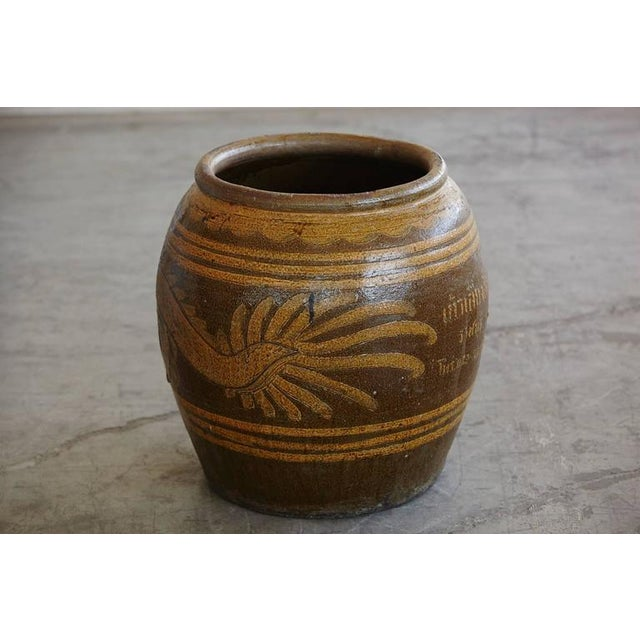 Korean Glazed Clay Dragon Water Jar For Sale In New York - Image 6 of 8