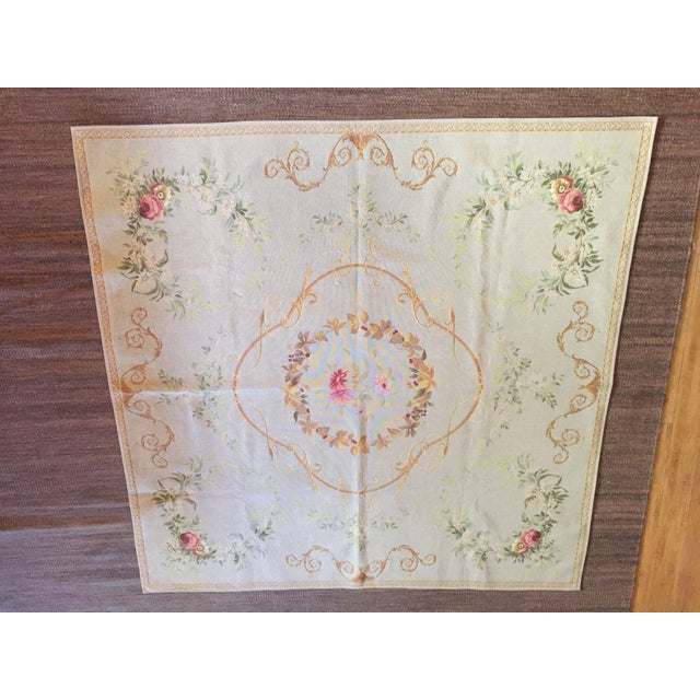 French Baroque Style Tapestry For Sale - Image 12 of 12