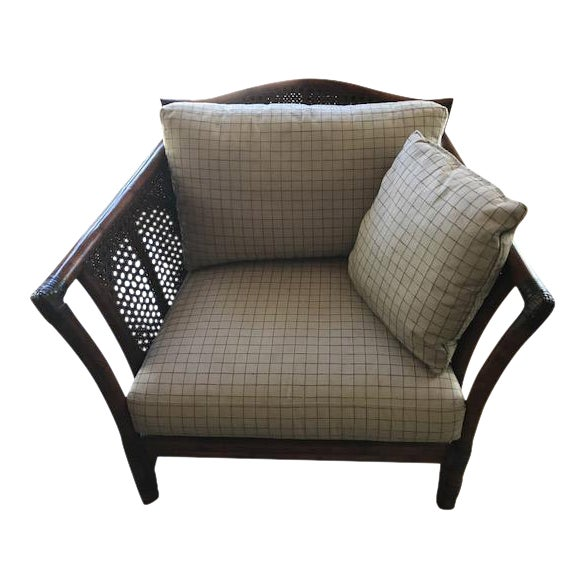 Ficks Reed Wicker Chair For Sale