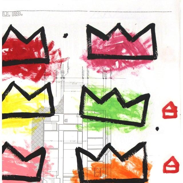 "American ""Rainbow Royalty"" Original Artwork by Gary John For Sale - Image 3 of 6"
