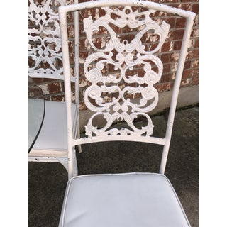 1940s Vintage Wrought Iron Dining Set- 5 Pieces Preview