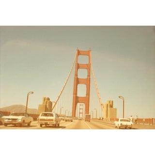 """""""Golden Gate Bridge"""" 70's San Francisco Vintage Photo Print For Sale"""