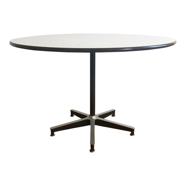 Pleasing Vintage Herman Miller Eames 650 Dining Table Download Free Architecture Designs Scobabritishbridgeorg