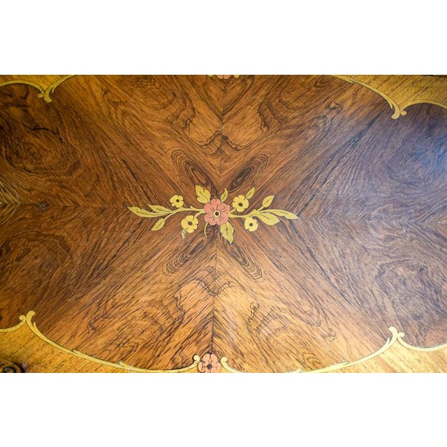 Early 20th Century Antique Tonk French Court Galleries Coffee Table For Sale - Image 10 of 13