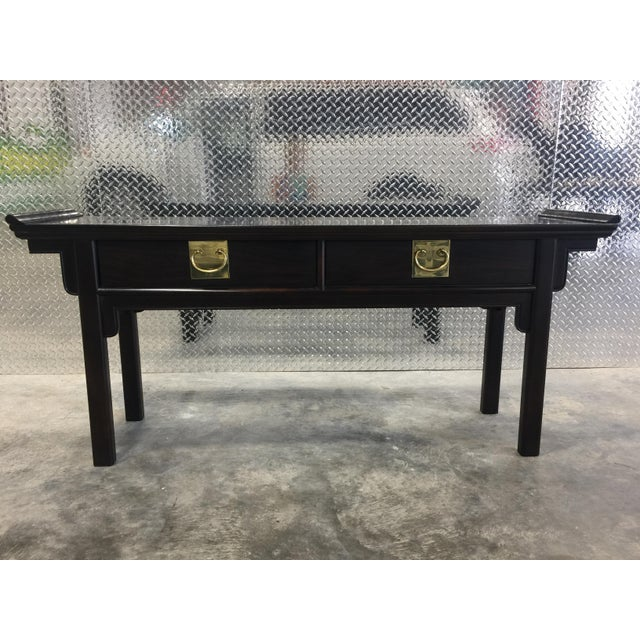 Century Chinoiserie Asian Style Console Table - Image 2 of 11