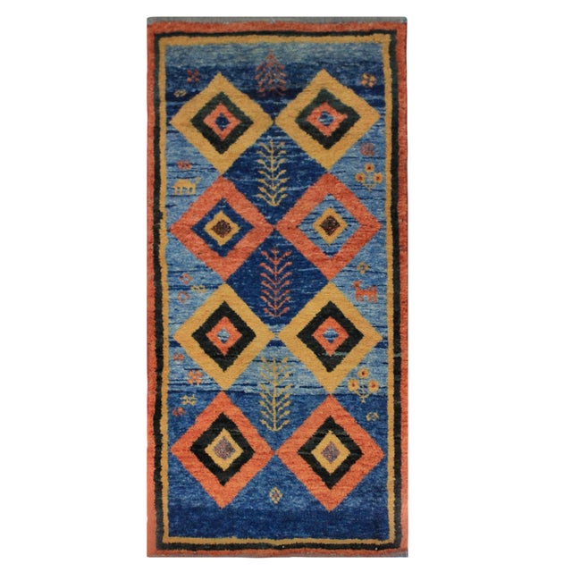 Islamic A Hand Woven Persian Carpet For Sale - Image 3 of 3