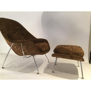 Vintage Mid Century Saarinen for Knoll Womb Chair and Ottoman Preview