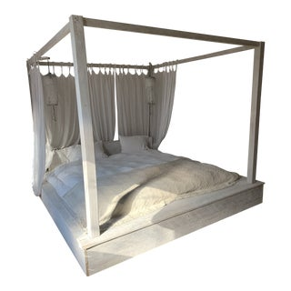 Handcrafted Specialty Wooden Bedframe For Sale