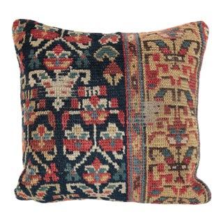 Antique Caucasion Rug Pillow Case For Sale