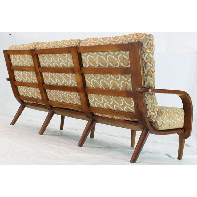 Conant Ball Russel Right Solid Bent Maple Sofa For Sale - Image 12 of 13