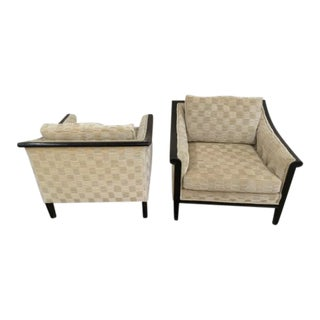 1970s Mid Century Modern Lounge Chairs - a Pair For Sale