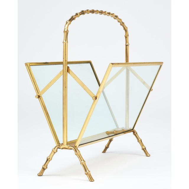 1960s Vintage Maison Baguès Magazine Stand For Sale - Image 5 of 10