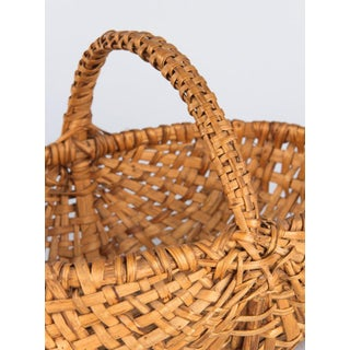French Auvergne Region Wicker Basket Preview