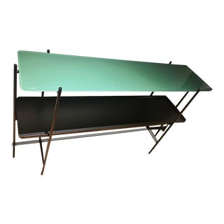 Gubi Ts Console Glass & Metal 2 Rack