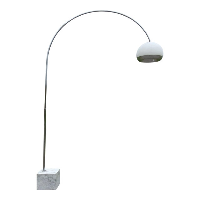 Harvey Guzzini Laurel Arc Floor Lamp For Sale