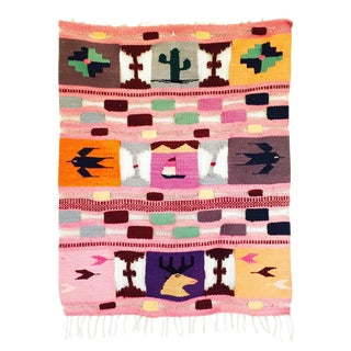 Colorful Vintage Southwestern Wall Hanging
