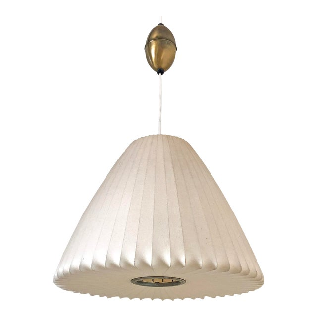 George Nelson for Howard Miller Bell Pendant Bubble Lamp For Sale