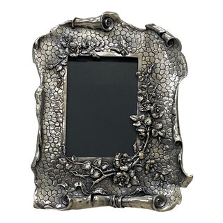 Rare Hand Made Tiffany & Co. Sterling Silver Table Top Picture Frame C.1870-91 For Sale
